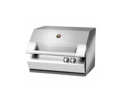 Turbo 2 Elite - Barbecue a metano e gpl / barbecue da appoggio / barbecue da incasso.