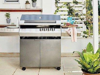 Turbo 4 Classic - barbecue a gas, barbecue a metano